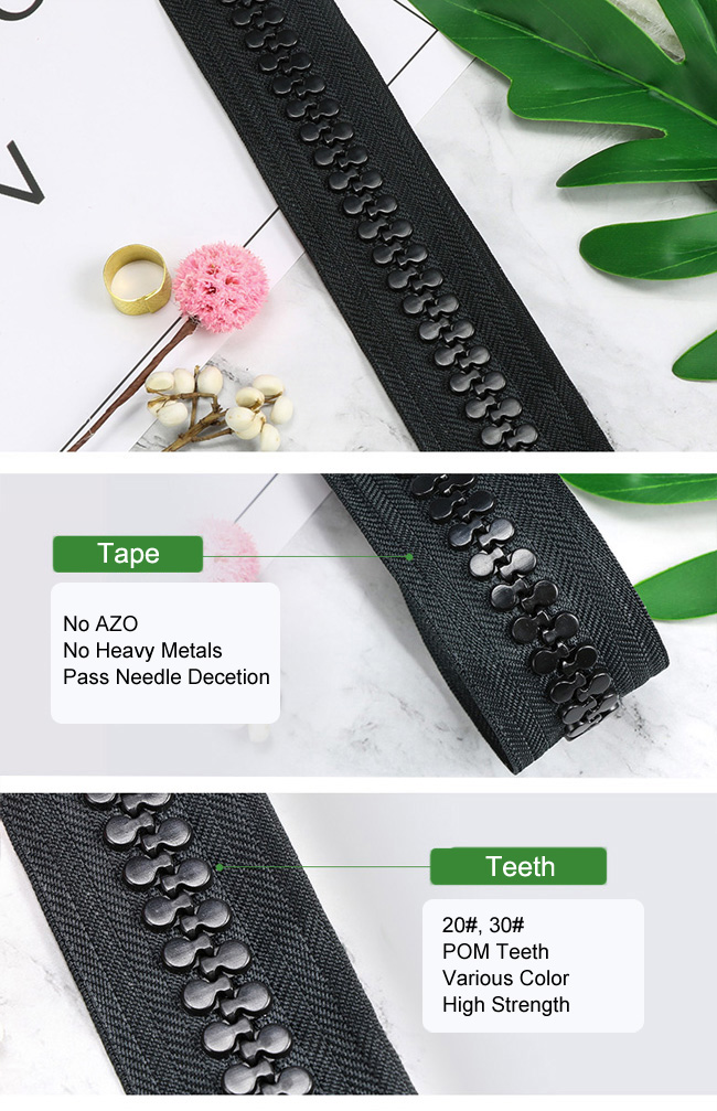 Large Size Of Plastic Zipper Chain manufacturer