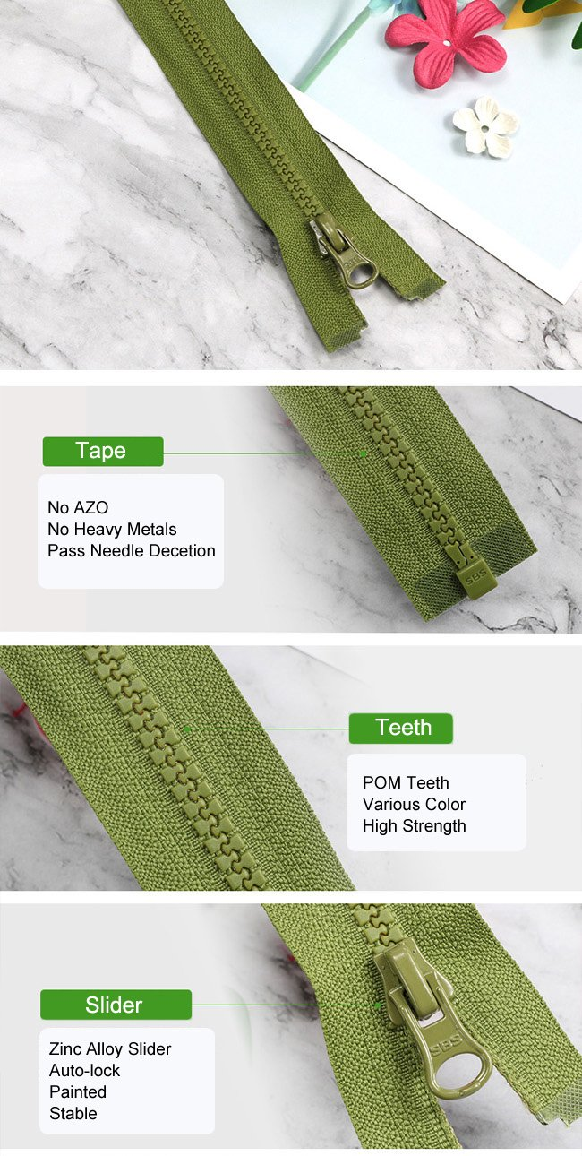 Standard Plastic Zipper supplier