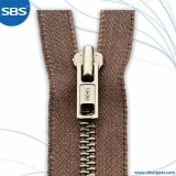 Cotton Touch Tape Metal Zipper