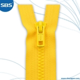 Standard Normal Plastic (Derlin) Zipper