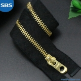 Fire Resistant Metal Zipper