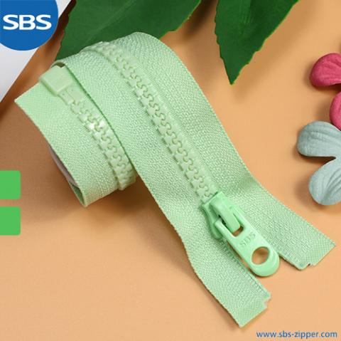 Environmental Plastic Zipper